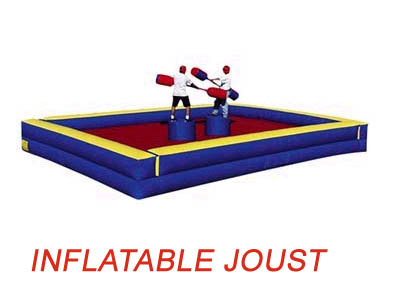 Inflatable Joust for Field Day Rental
