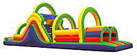 Inflatable Obstacle Course Rental Houston Texas Moonwalks
