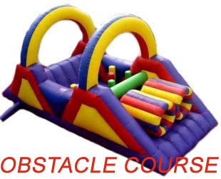 Inflatable Obstacle Course Rental Houston