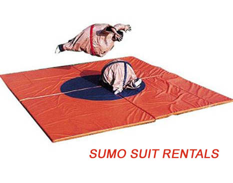 Inflatable Sumo Suit Rental Houston