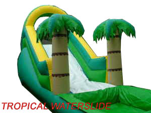 Tropical Waterslide Houston