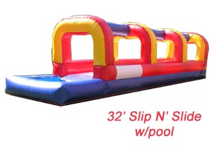 32' Slip N Slide Rental Houston